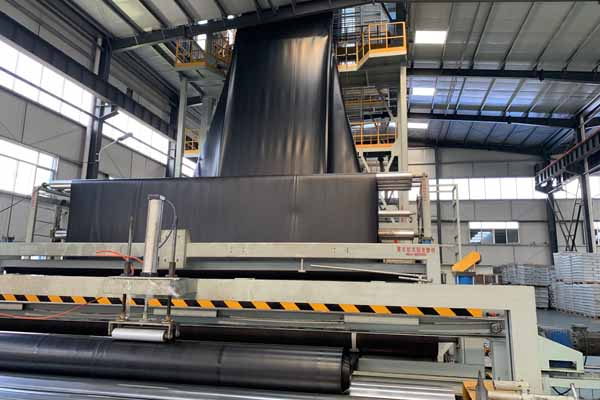 HDPE Geomembrane production