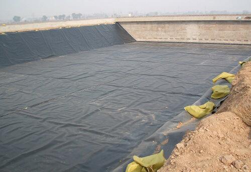 retention pond liners