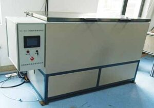 Building materials freeze-thaw test bench