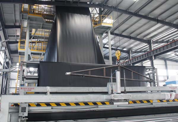 4Layers co-extrusion geomembrane production line
