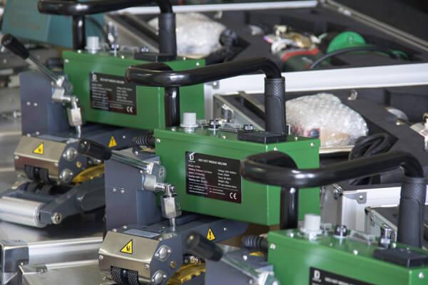 geomembrane welding machine