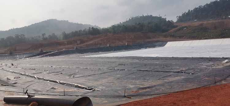 Landfill Project of Earthshields Company in Malaysia